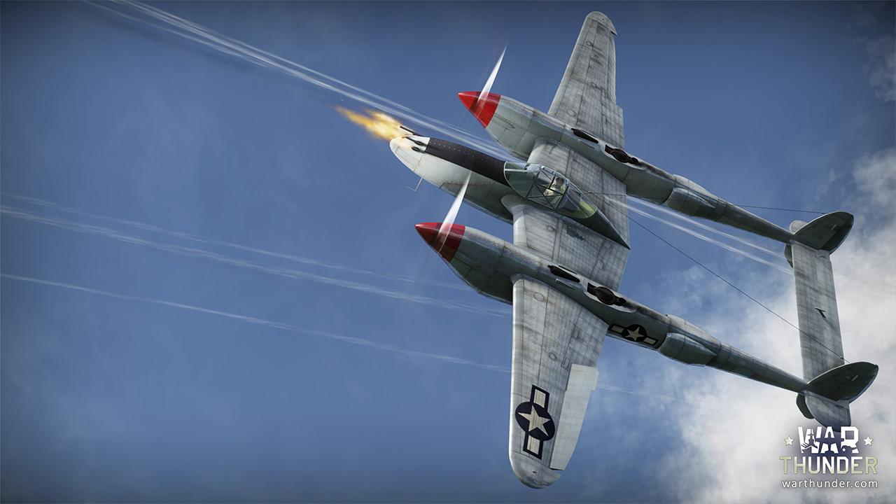 War Thunder P-38G