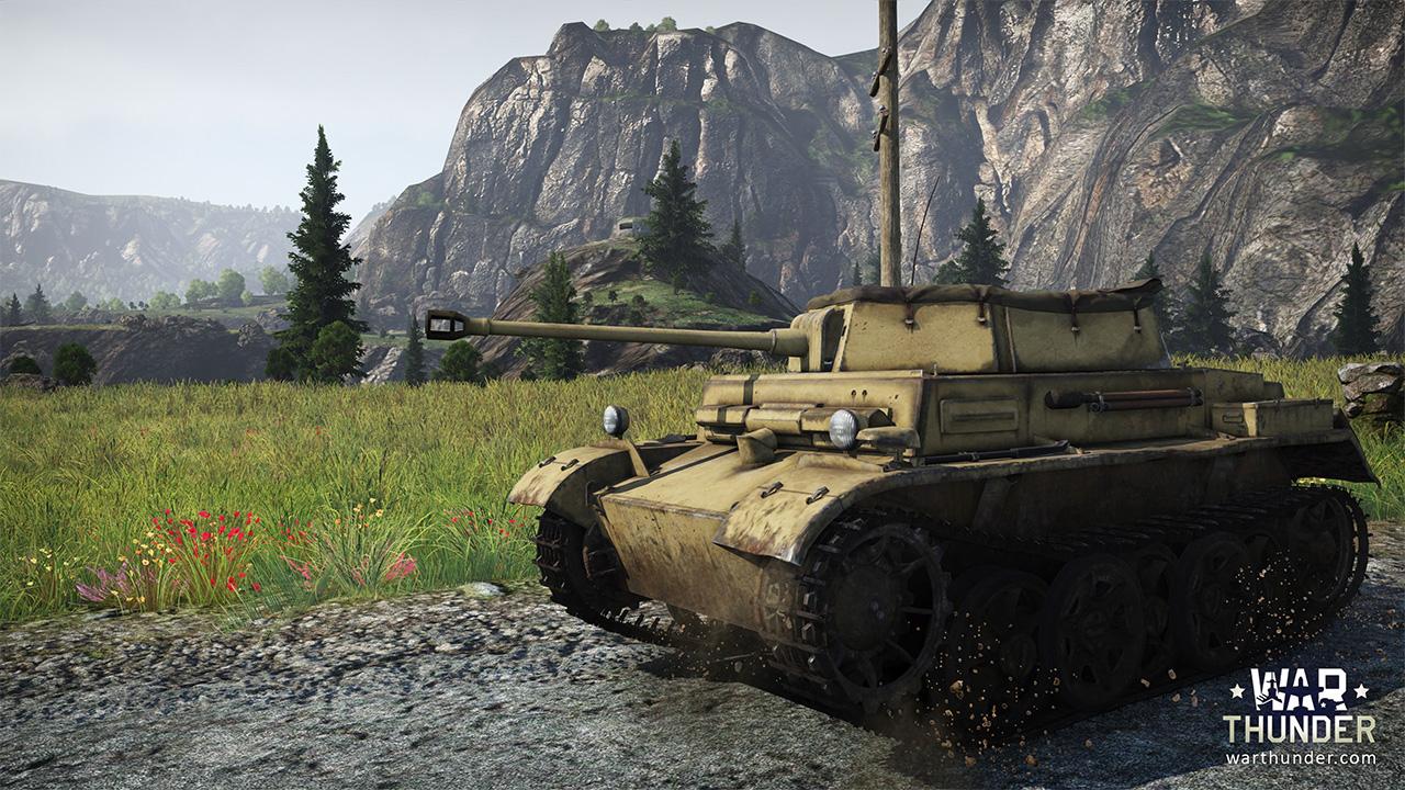War Thunder Panzerkampfwagen II Ausf. H