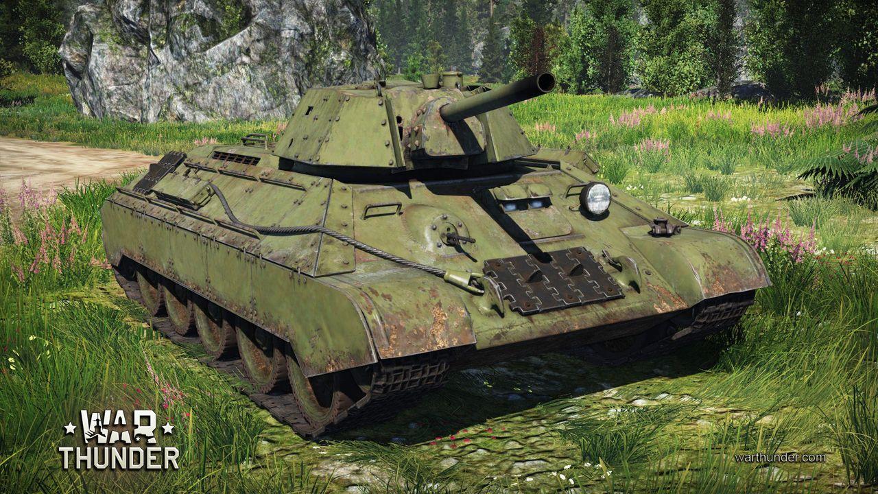 War Thunder T-34E