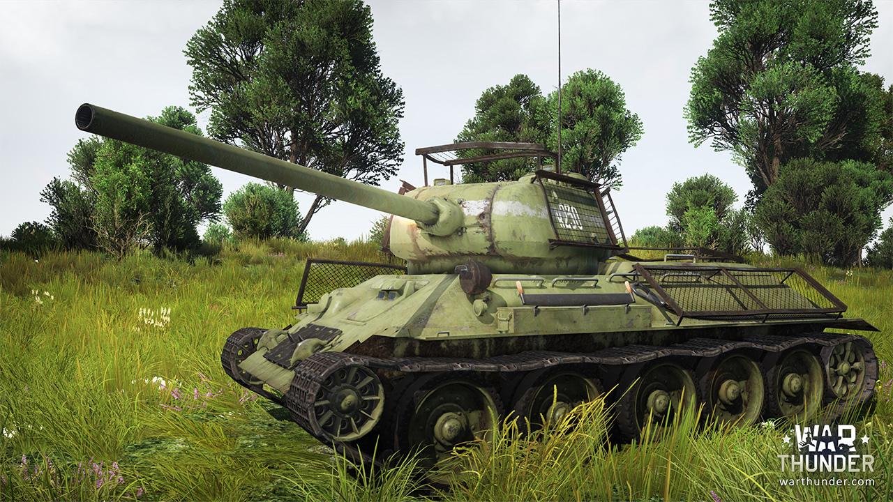 War Thunder T3485E