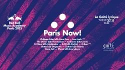 Paris Now! : le closing de la RBMA ce vendredi