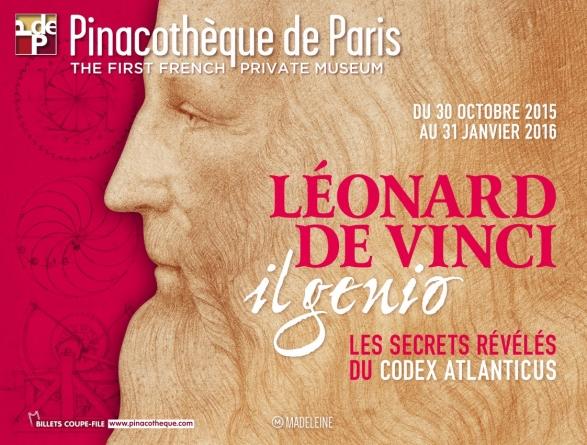 Expo Léonard de Vinci : un génie à la Pinacothèque