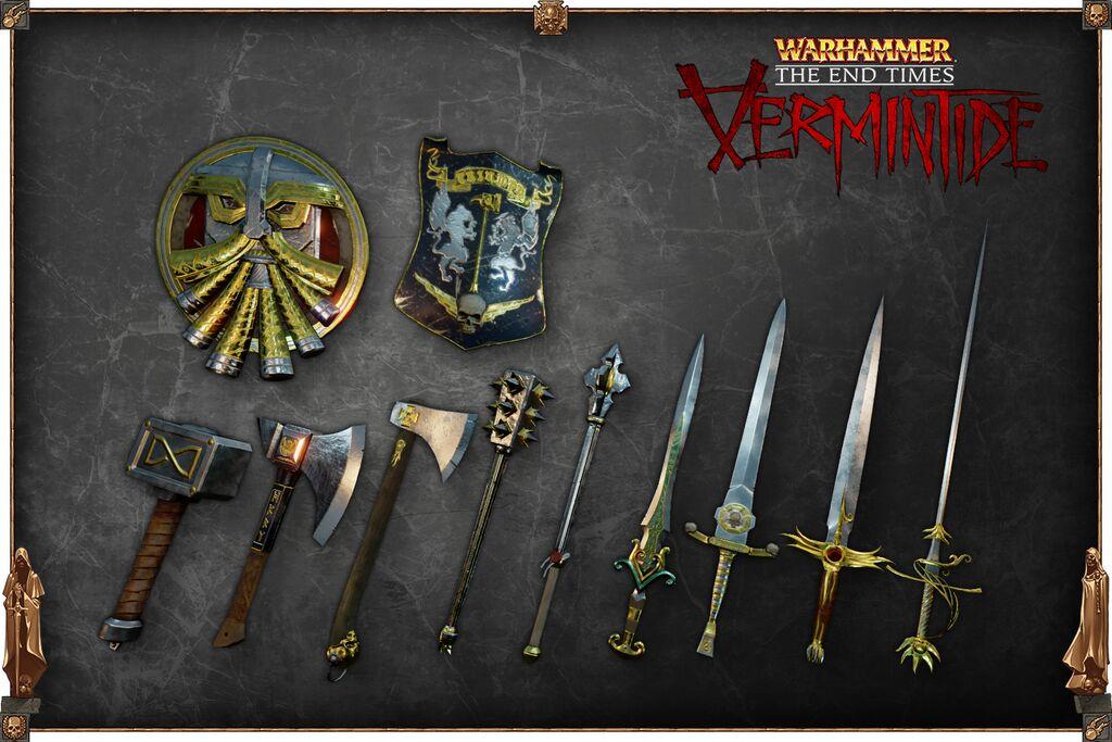 Vermintide DLC arme 1