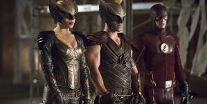 Flash et Arrow: Des images du crossover