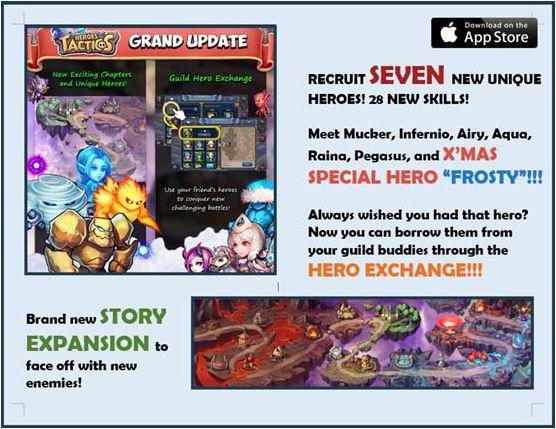 Heroes Tactics Mythiventure Update