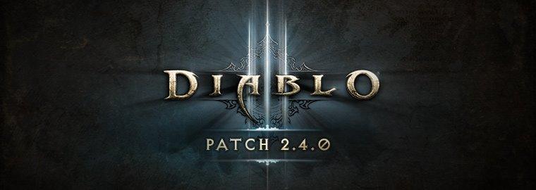 Diablo Patch 2.4.0