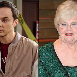 The Big Bang Theory saison 9 : June Squibb dans le rôle de la grand-mère de Sheldon