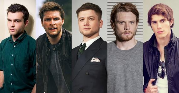 De gauche à droite : Ehrenreich, Reynor, Edgerton, O'Connell, Jenner