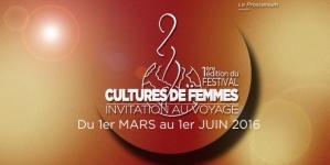 Festival Cultures de femmes au théâtre Le Proscenium