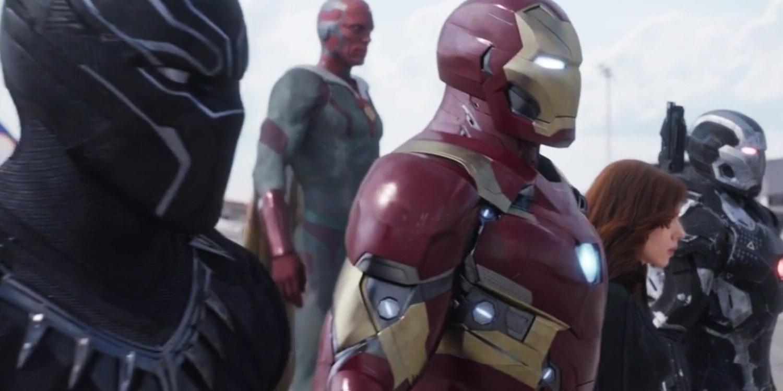 L'Equipe de Iron Man, prête à se battre.