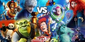 Dreamworks VS Pixar : films pour enfants ou pour adultes ?
