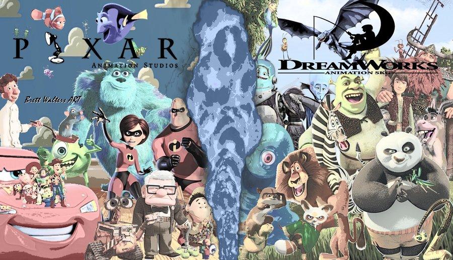 Dreamworks VS Pixar (3)