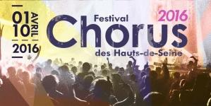 Le Festival Chorus, la 28ème édition du 1er au 10 Avril 2016