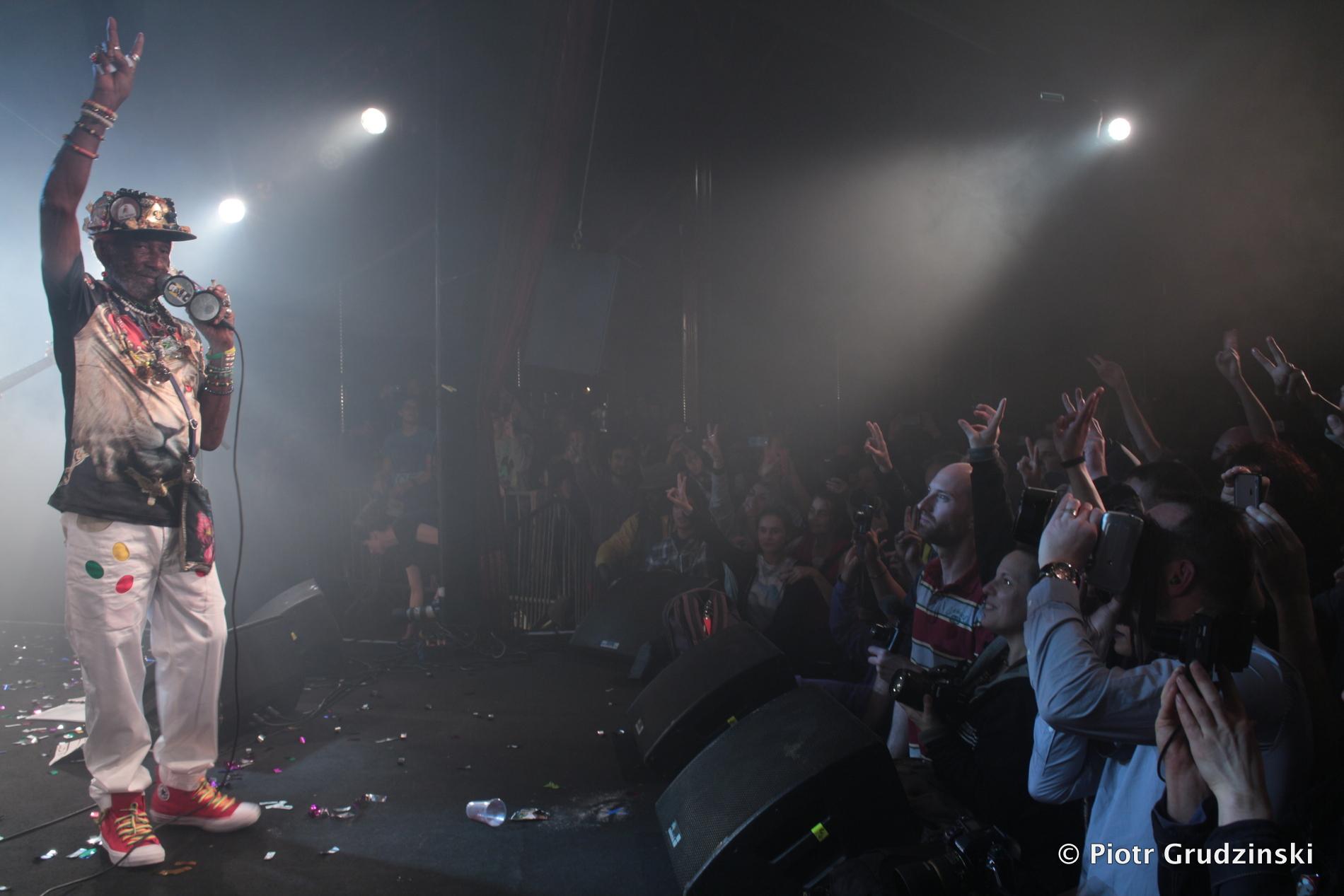 Lee Scratch Perry au Cabaret Sauvage