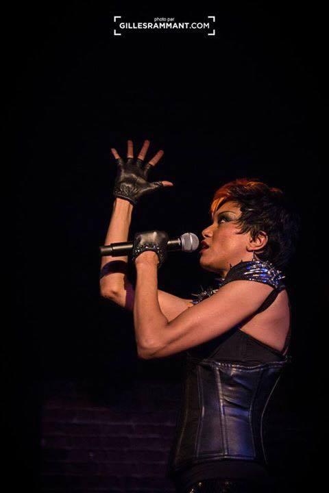 Diva Paname en showcase