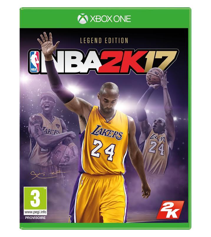 NBA 2K17 Legend Edition Jaquette