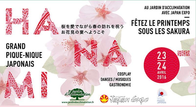 Hanami jardin d'acclimatation