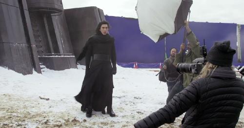 Kylo Ren tournage Star Wars 7
