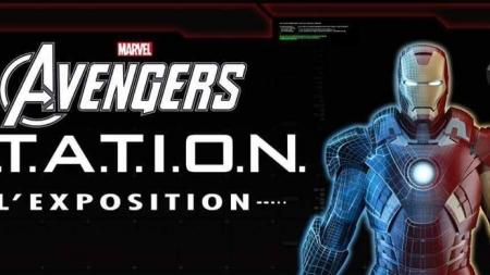 Exposition Avengers à la Défense