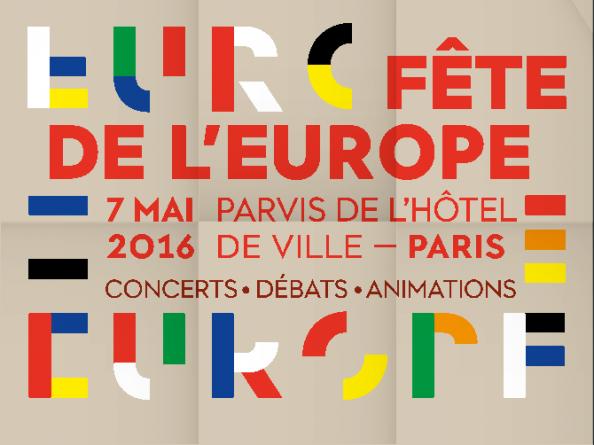 Fête de l'Europe à Paris, un avant goût de l'Europavox