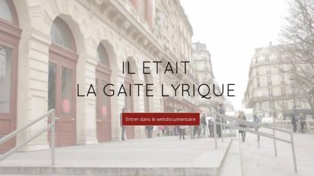 Revivez l'histoire de la Gaîté Lyrique grâce à un web documentaire