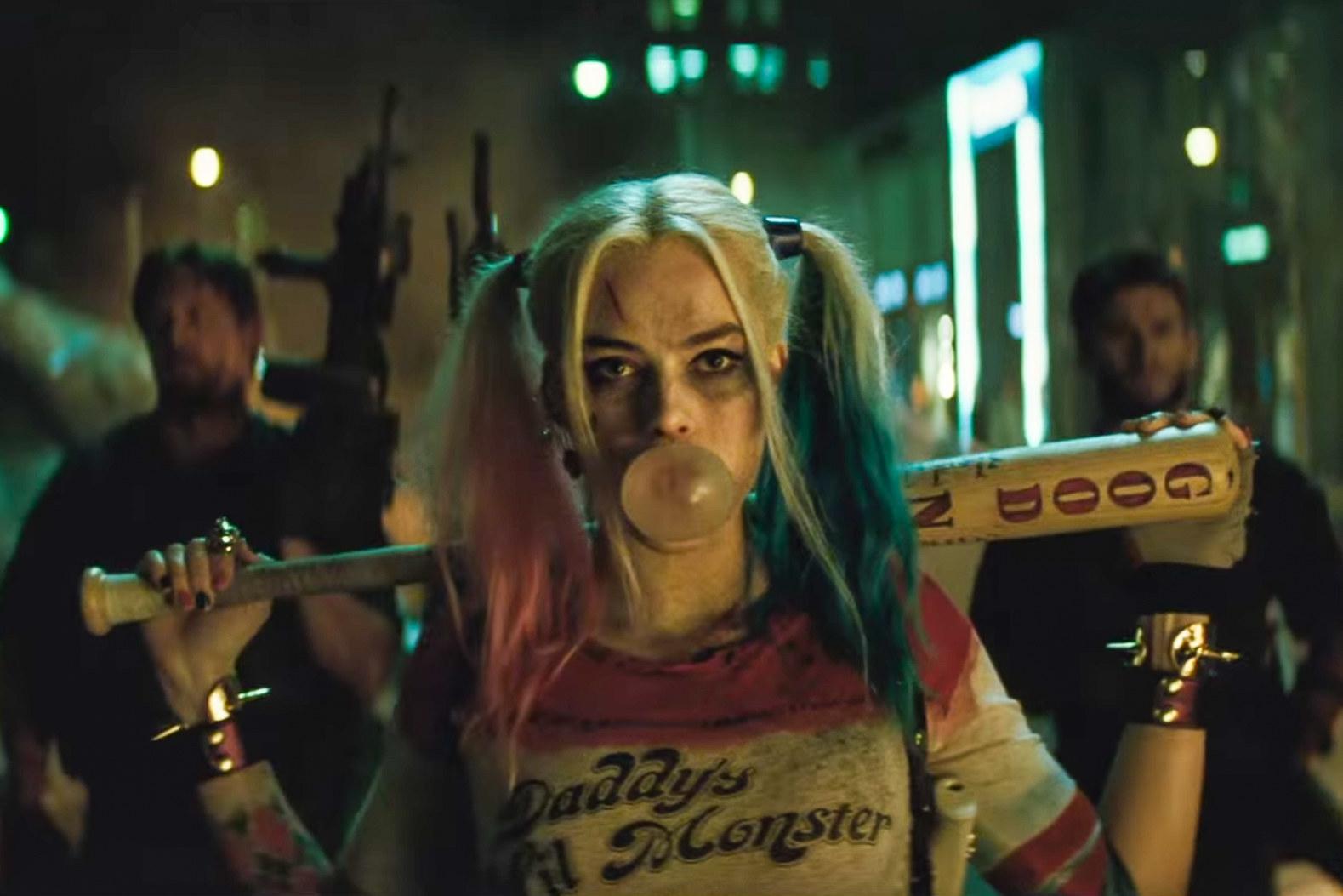 Margot Robbie dans le rôle de Harley Quinn