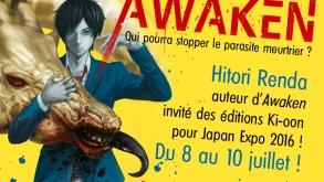 [Japan Expo] Le dessinateur de King's Game et Awaken présent !