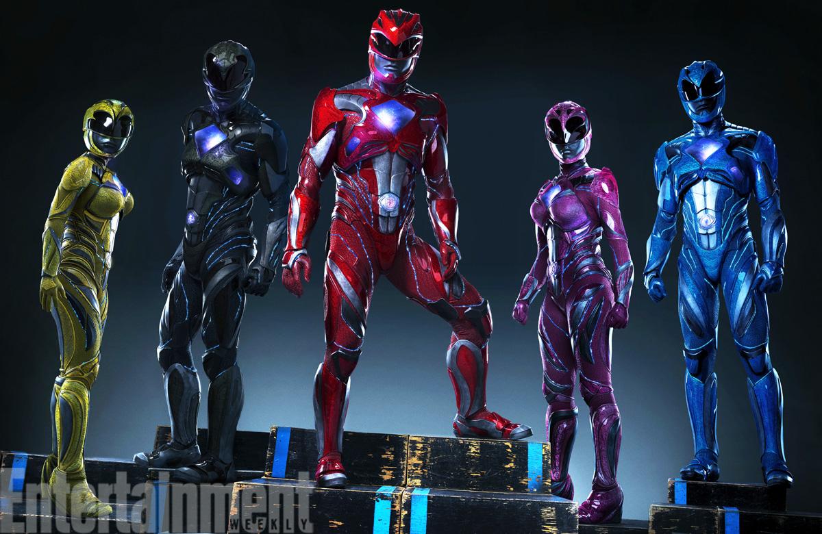Power Rangers - Reboot Costumes