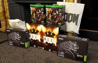 Doom Game Jam cadeaux