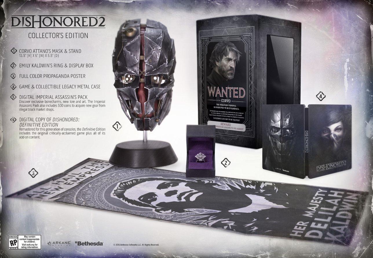 Edition Collector Dishonored 2 E3