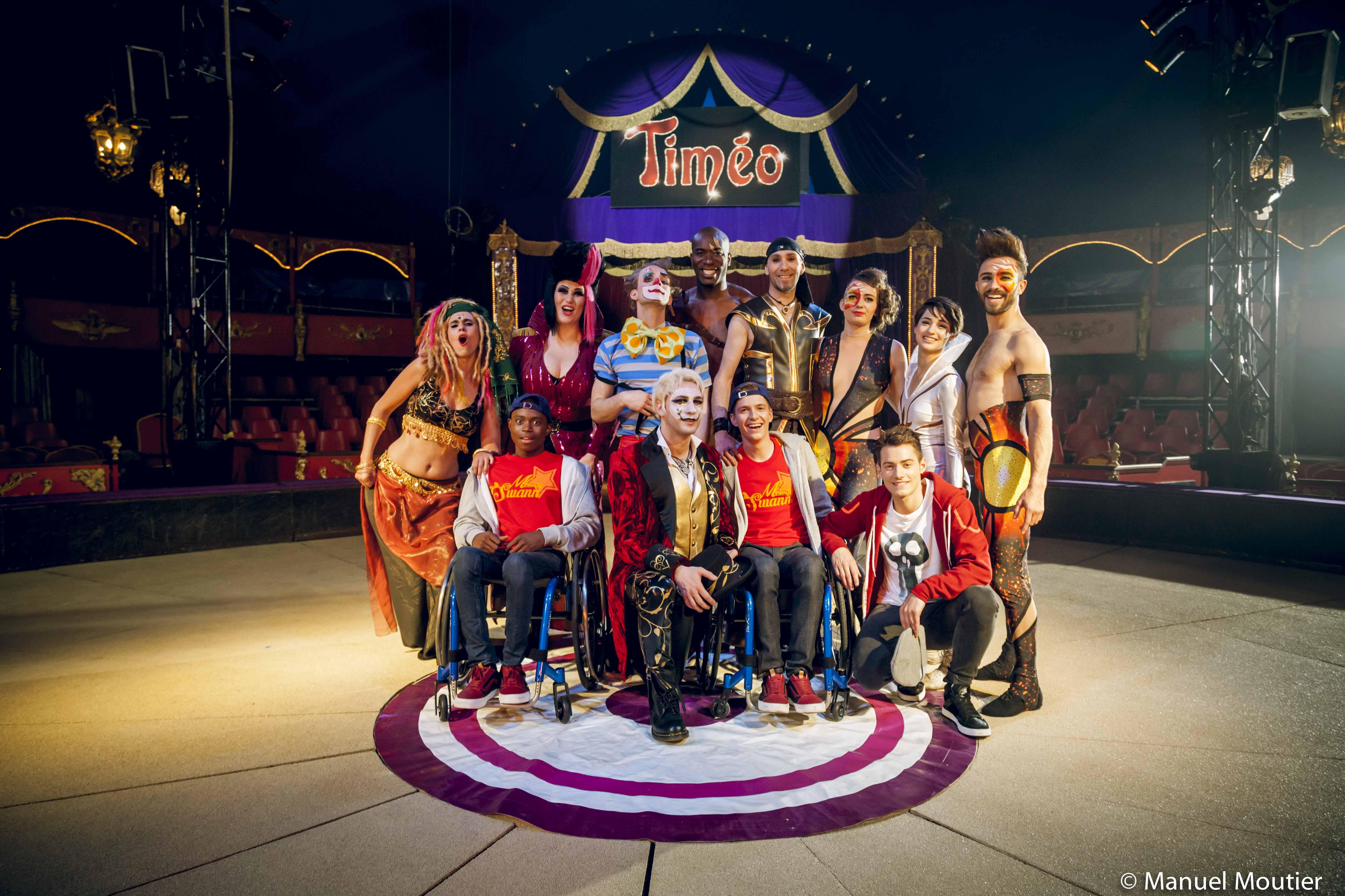 TIMEO, la troupe, casino de paris, spectacle
