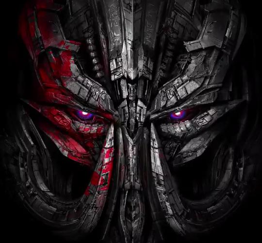 Megatron en tête de la dernière affiche de Transformers 5