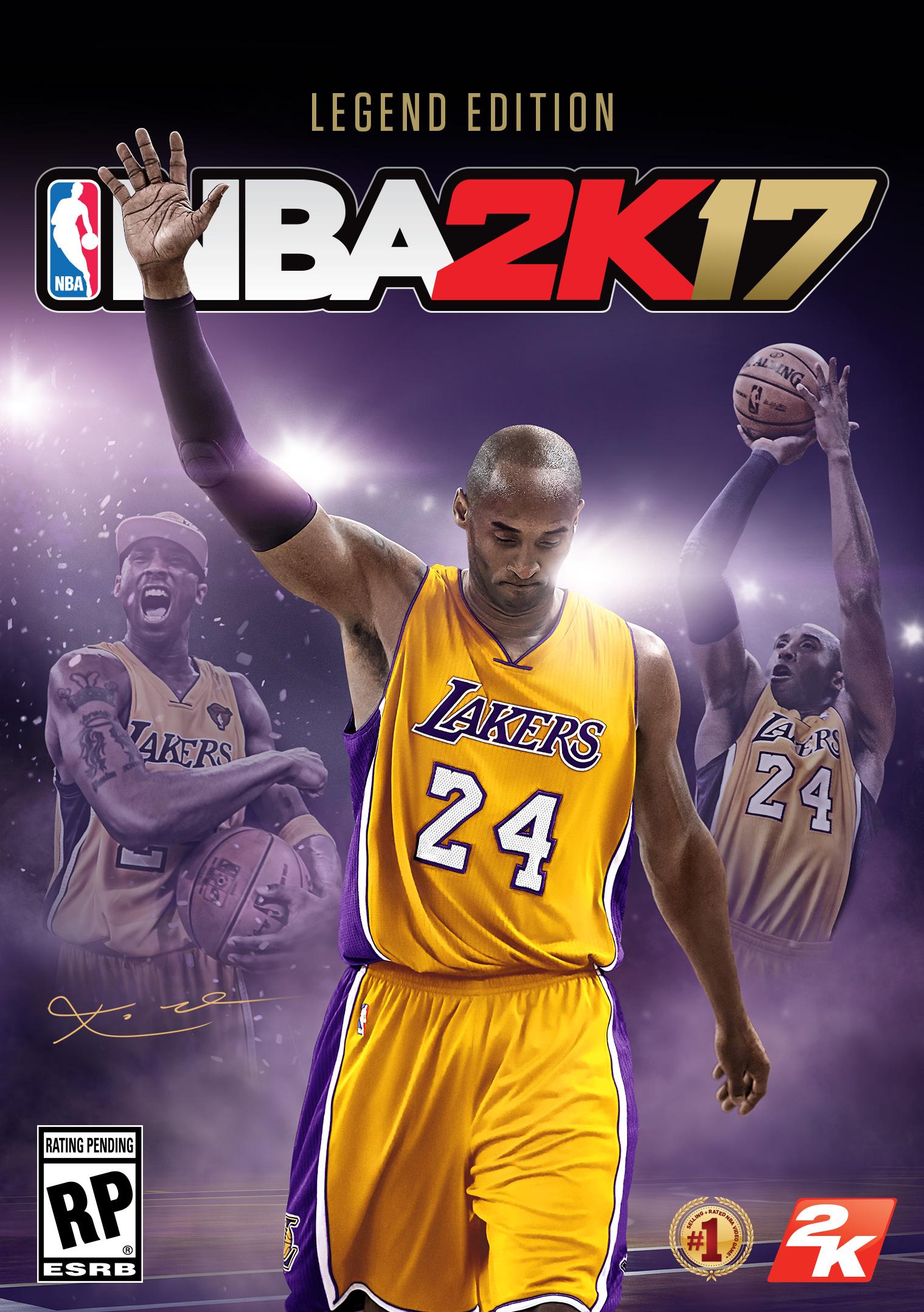 nba 2K17 edition legende gold