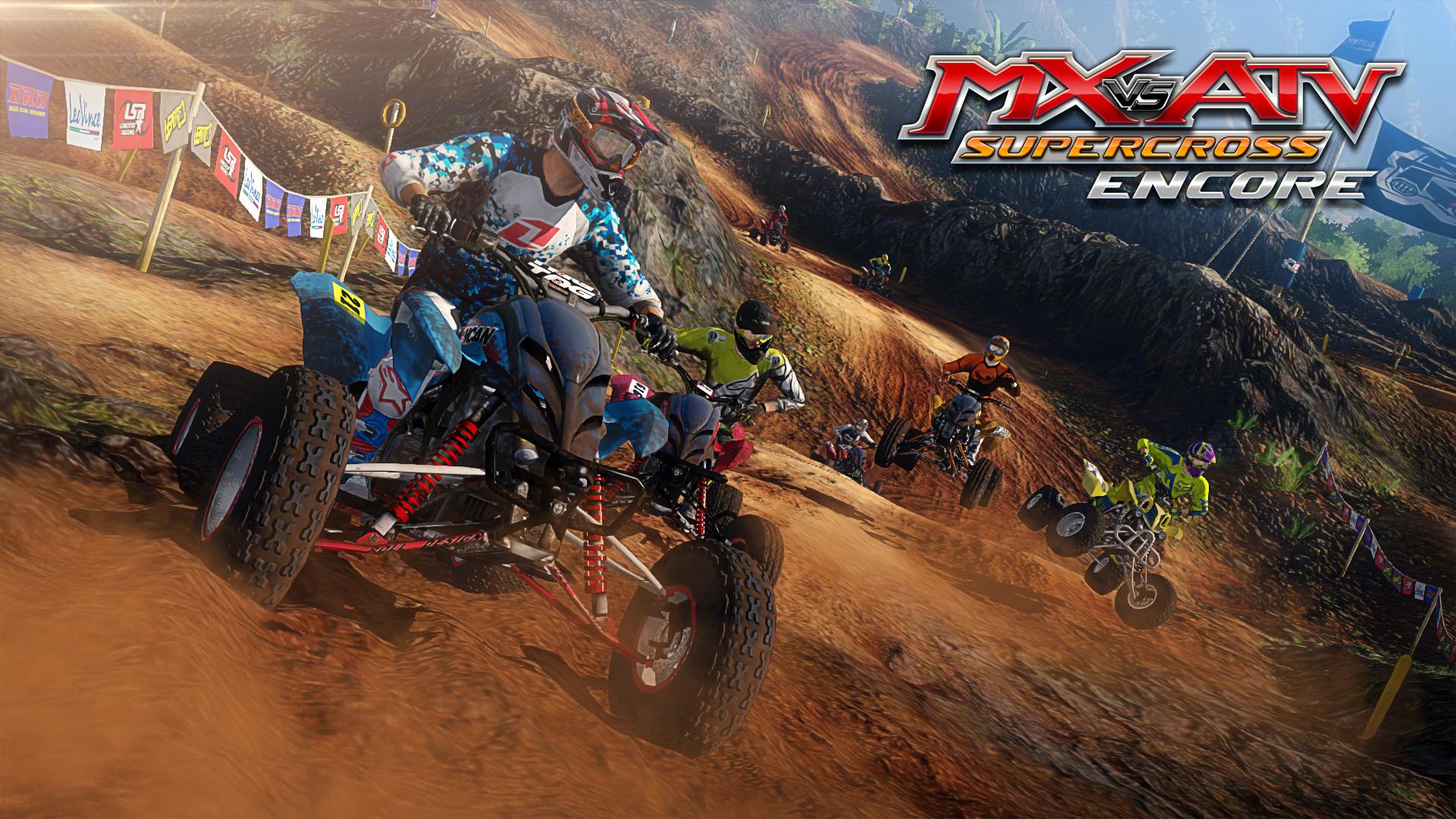 MX vs ATV Supercross Encore Screen 1