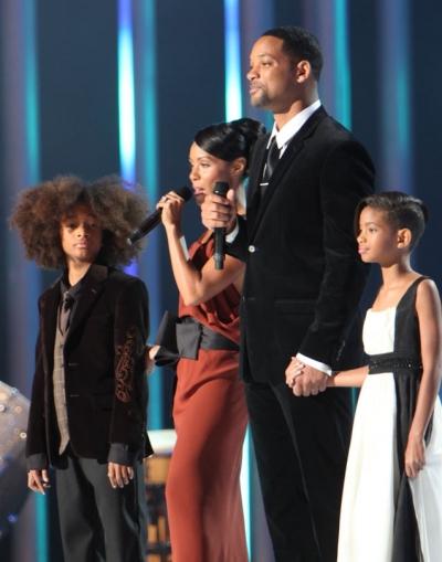 Will Smith Jada Pinkett Smith et enfants