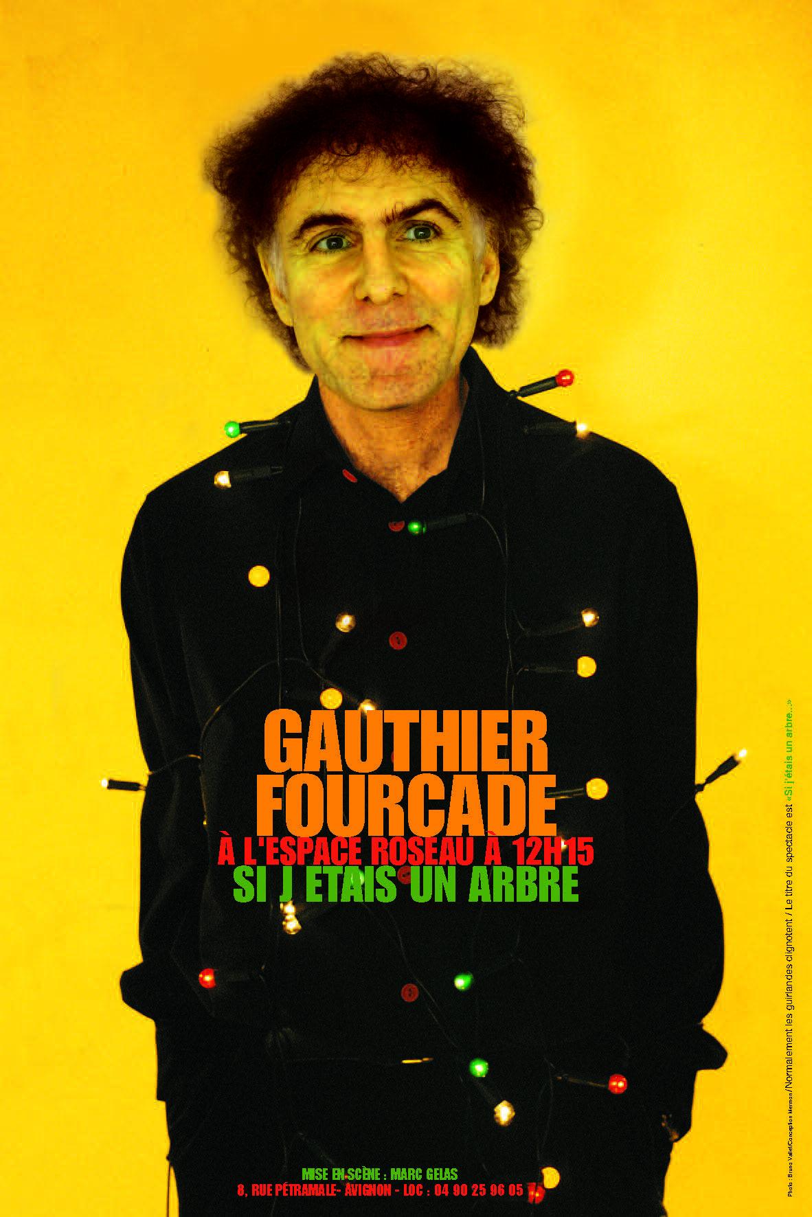 affiche gauthier fourcade