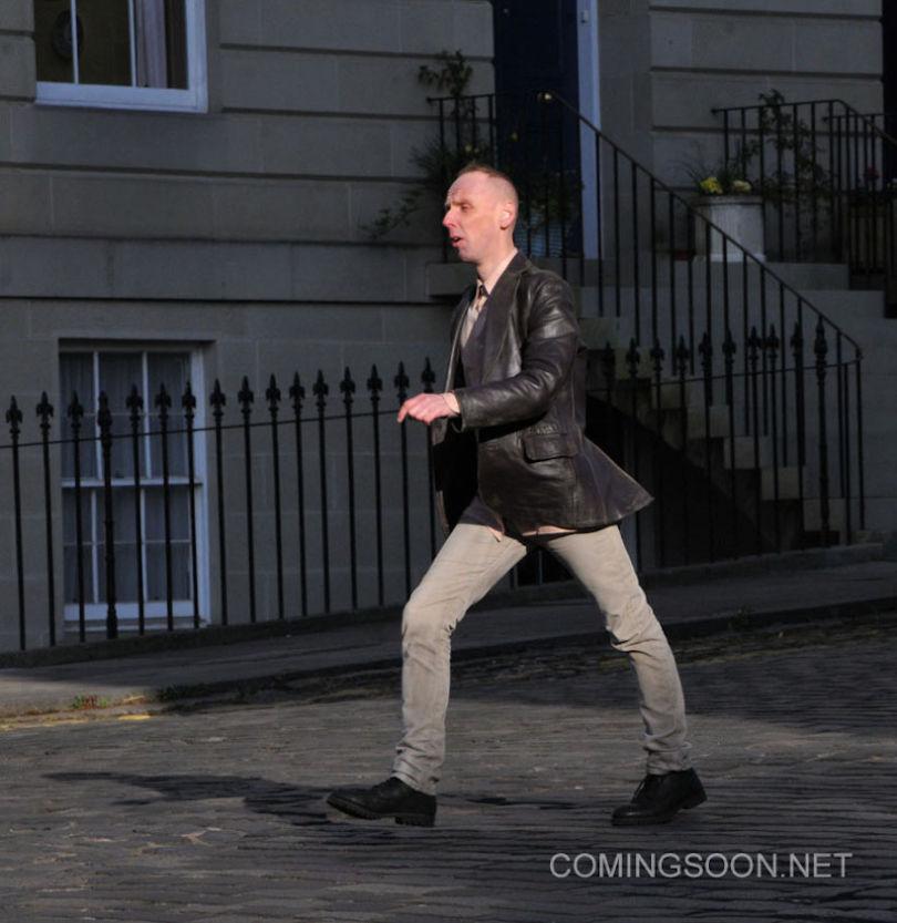 Trainspotting 2 filming in Edinburgh with Ewan Bremner as Daniel 'Spud' Murphy Featuring: Ewan Bremner Where: Scotland, United Kingdom When: 13 May 2016 Credit: WENN.com