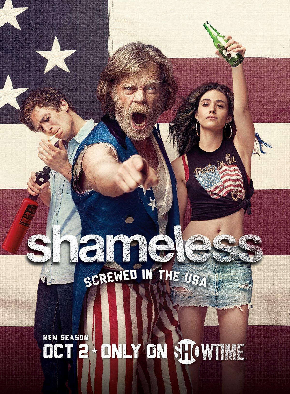 Poster de la saison 7 aux couleurs de l'Amérique !