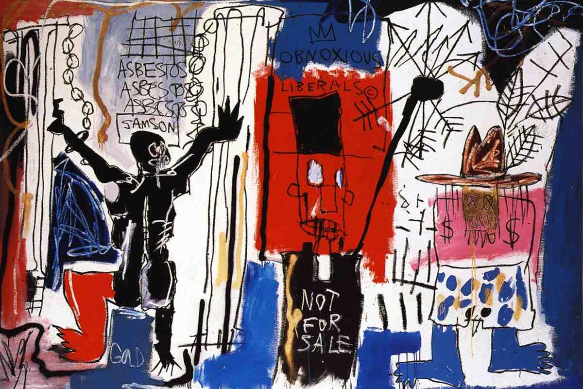 Jean-Michel-Basquiat-Obnoxious-Liberals.-1982