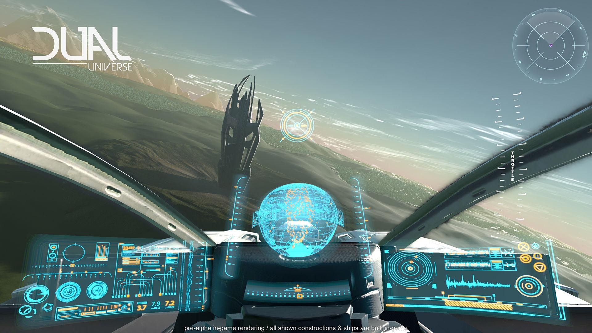 Dual universe pilote