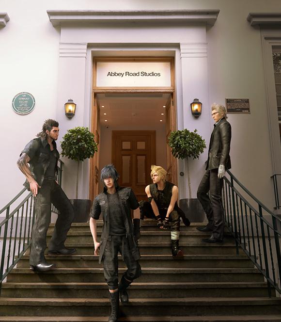 FFXV Abbey Road Studios