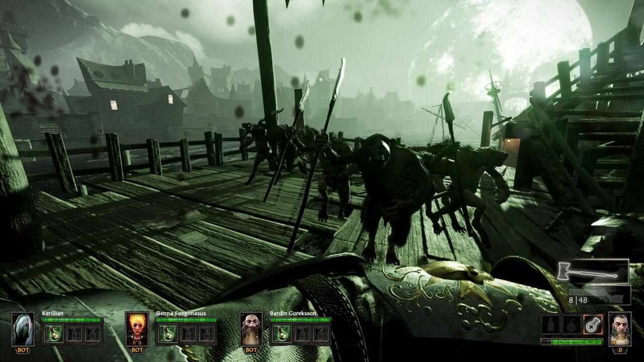 Warhammer End Times Vermintide meute skavens