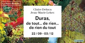 La folie de Marguerite Duras au Théâtre de la Reine Blanche