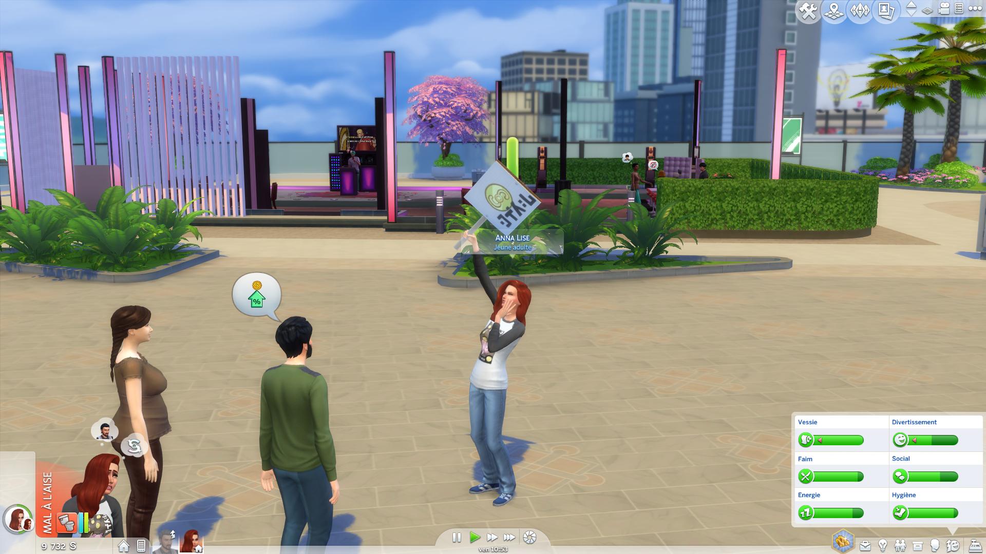 Sims 4 Vie Citadine