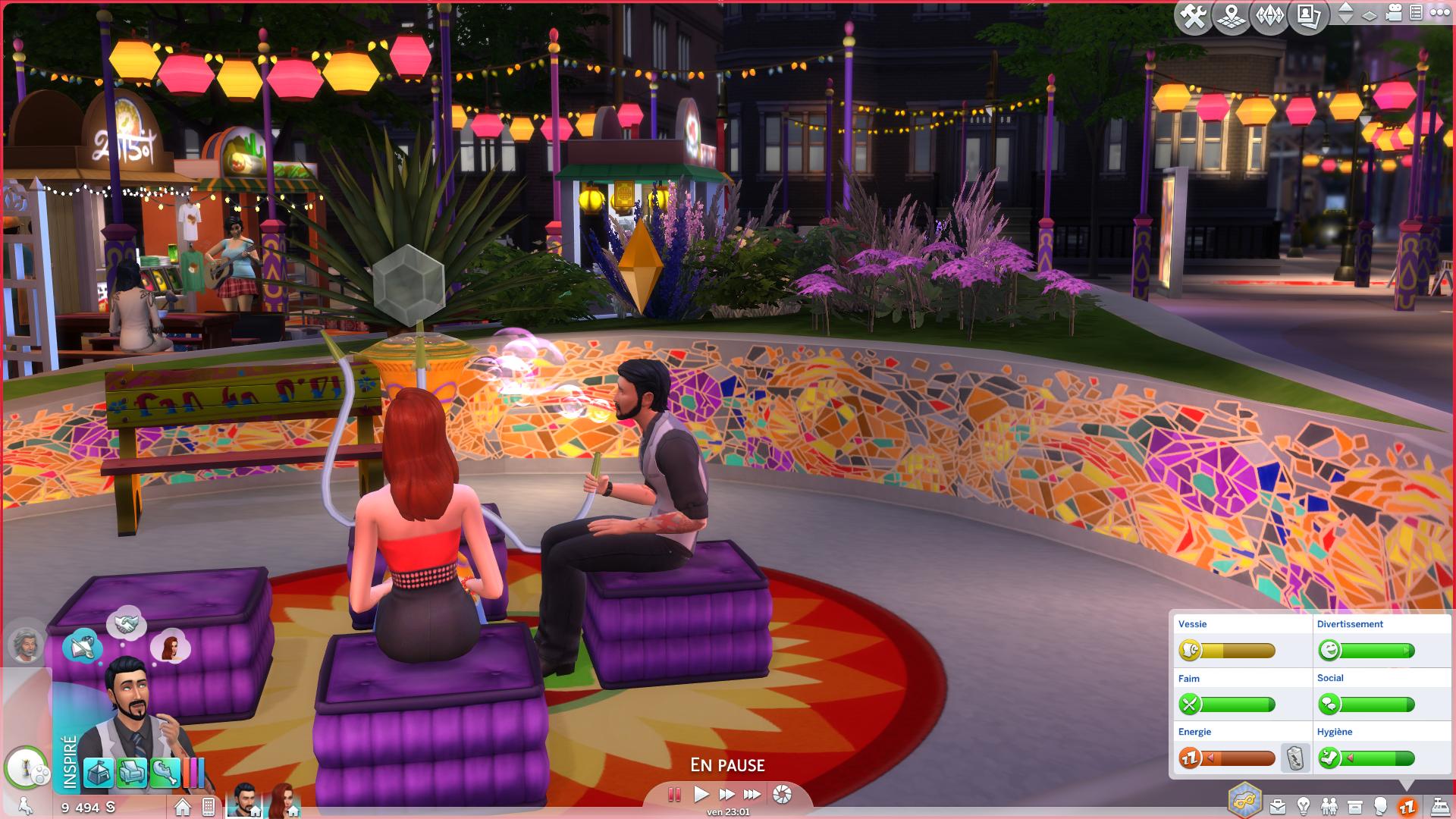 Vie Citadine Sims 2