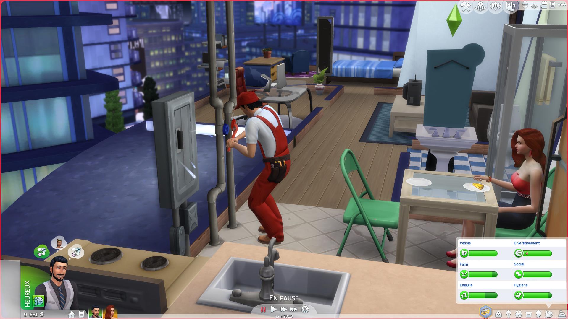 Sims 4 Vie Citadine 9