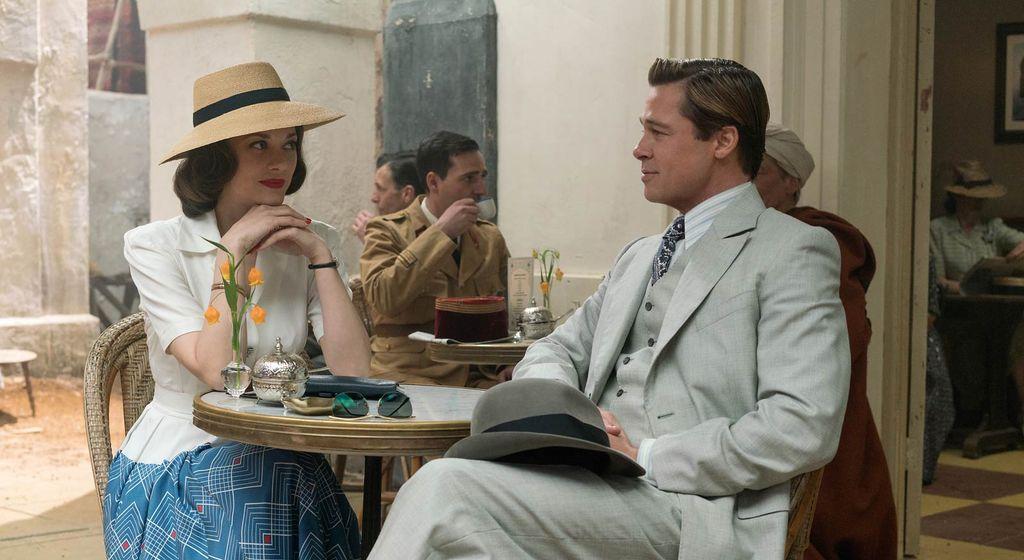 Marion Cotillard et Brad Pitt