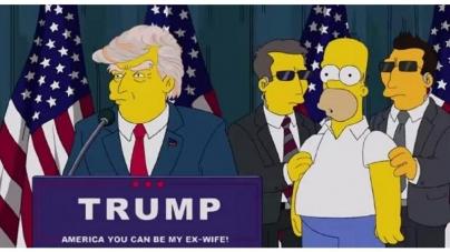 Les Simpson avaient prédit l'élection de Donald Trump en… 2000 !