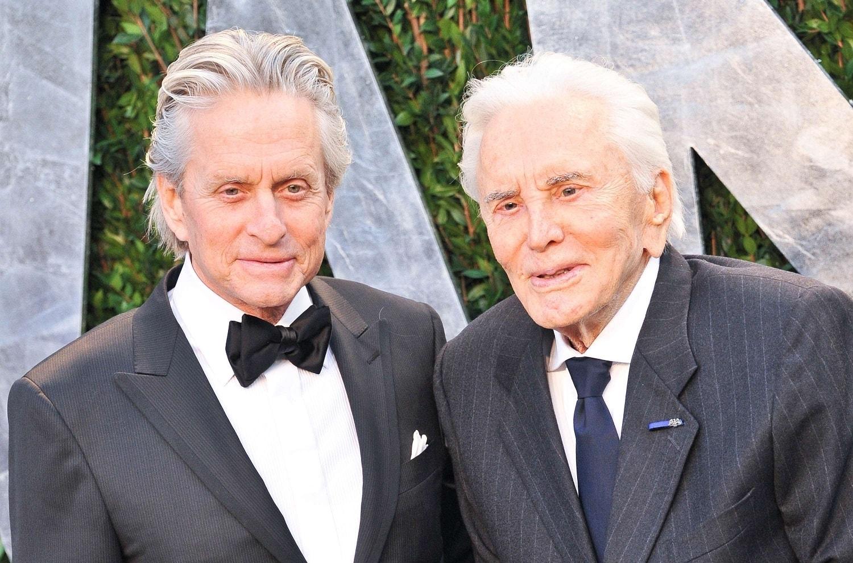 Michael et Kirk Douglas