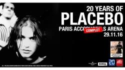 La tournée d'anniversaire des 20 ans de Placebo